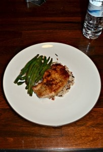 Honey and Sesame Soy Glazed Pork with Green Beans