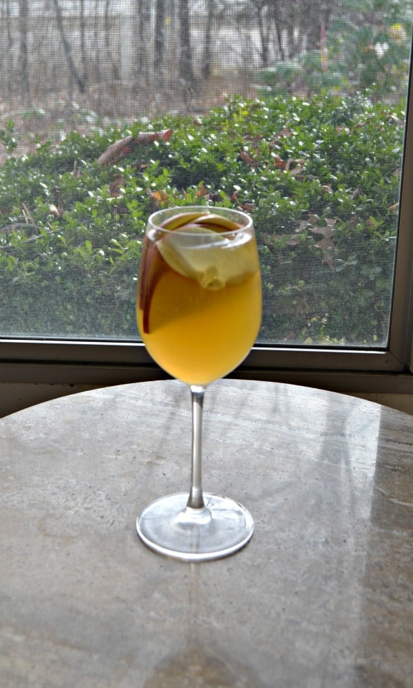 Delicious Sparkling Pear Apple Sangria is a hit at parties