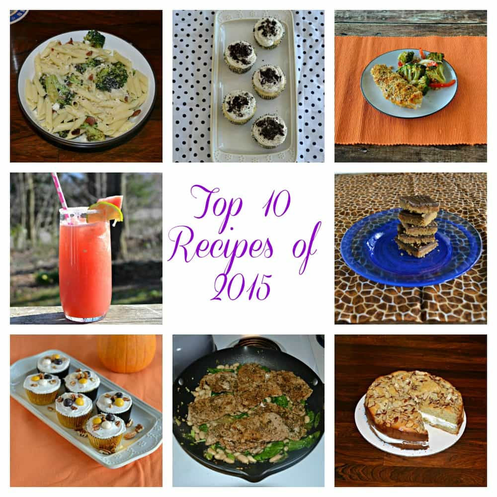 Top 10 Recipes of 2015 on Hezzi-D's Books and Cooks