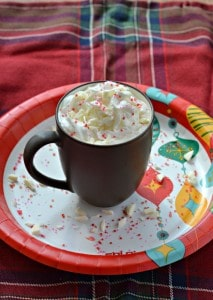 White Christmas Hot Cocoa is a delicious winter beverage
