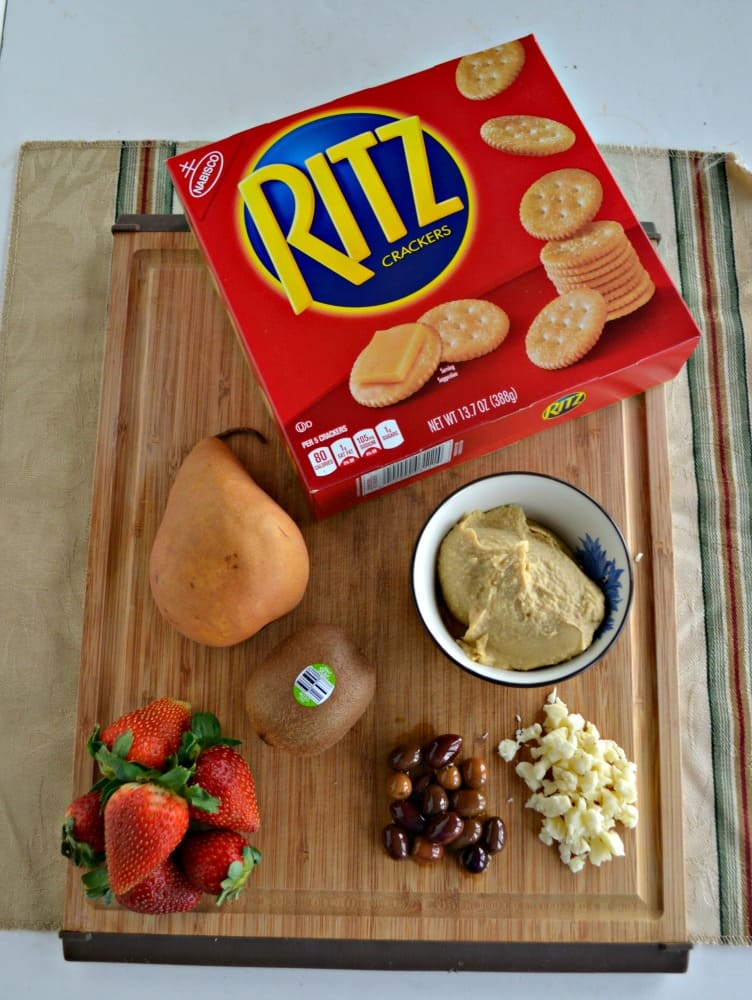 Make your Game Day snacks with RITZ crackers!