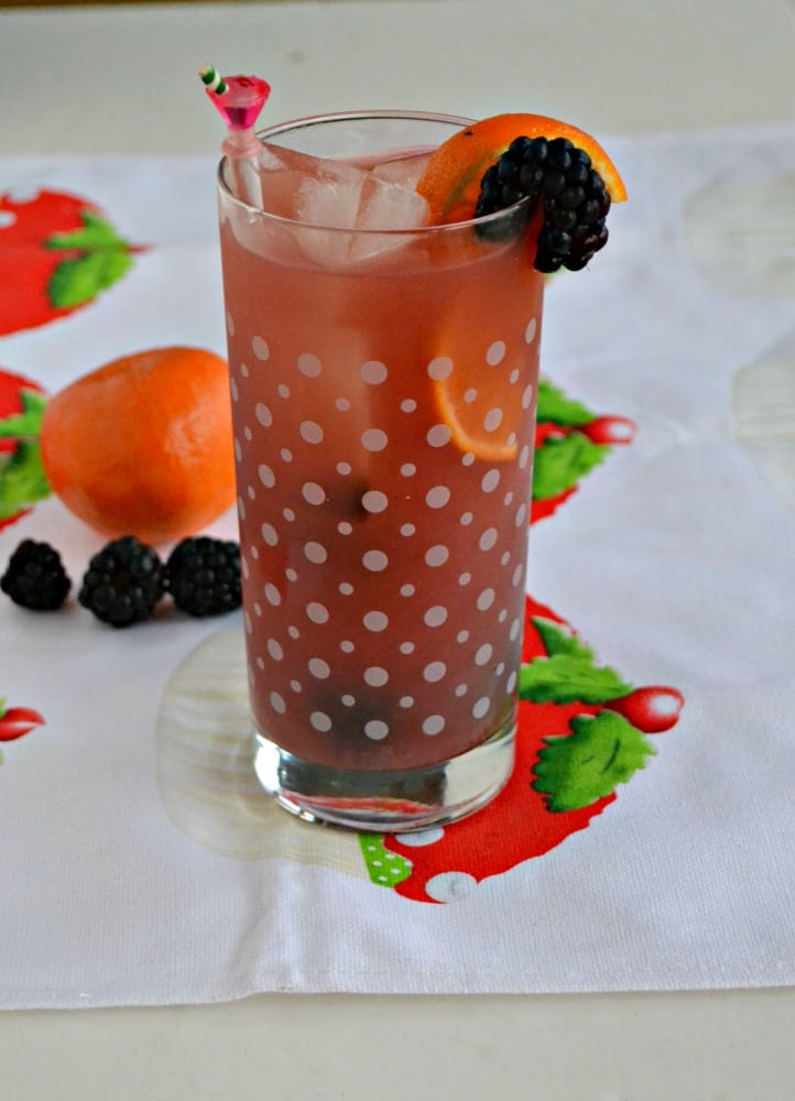 Try a refreshing Blackberry Orange Sangria