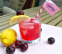 Spiked Cherry Lemonade is a refreshing beverage