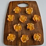 Bake up these delicious Chili Cheese Bean Dip Cups in crispy wonton wrappers!