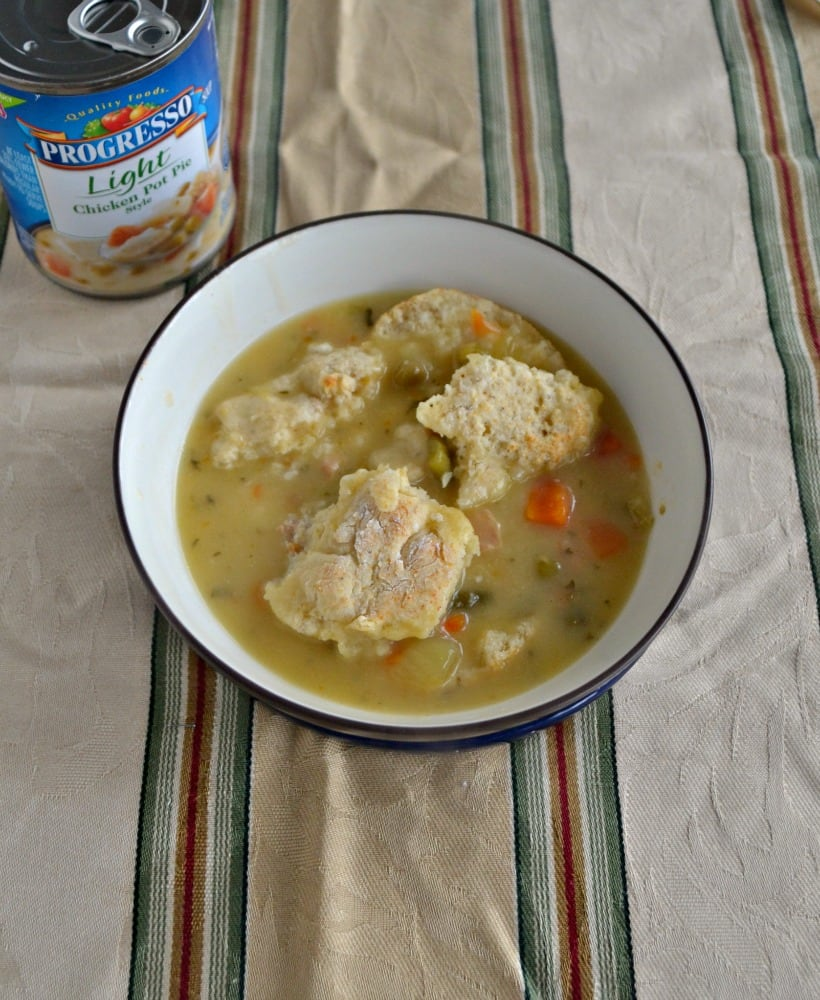 Dig into a healthier Chicken Pot Pie this winter!
