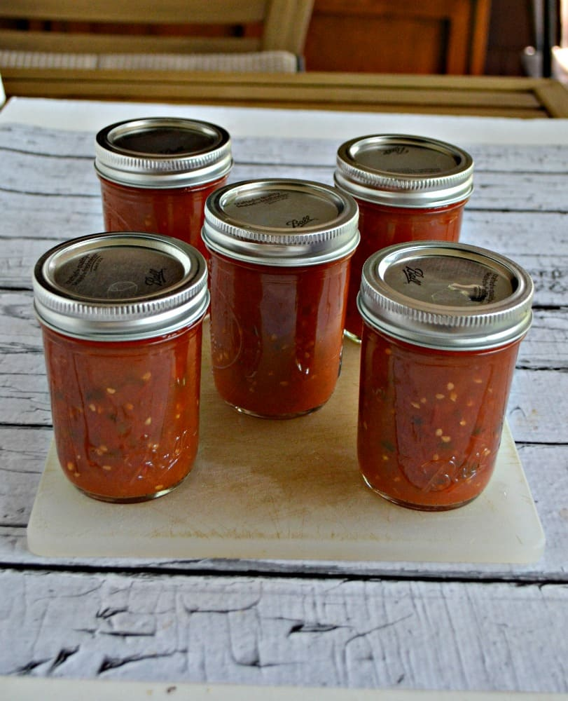 Make and can your own hot sauce this year!