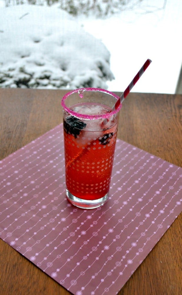 Try this Love Potion cocktail recip for Valentine's Day