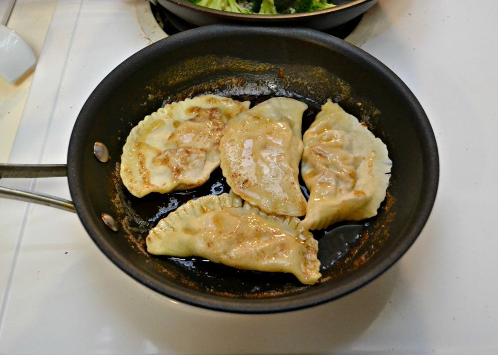 Homemade pierogies are amazing!