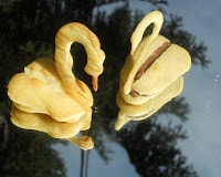 Pate a Choux Swans: Daring Bakers