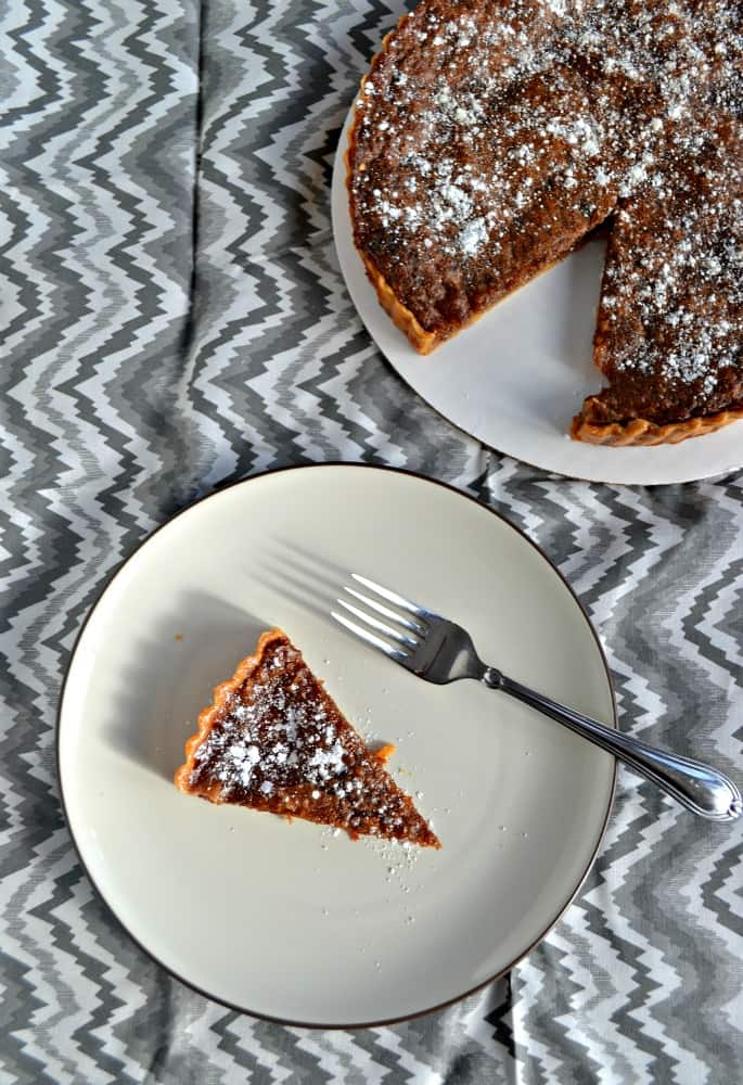 If you like caramel you are going to love the flavors in this simple Brown Sugar Pie