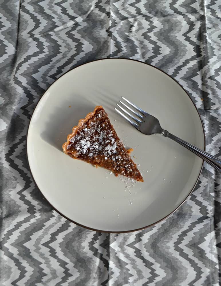 Take a bit out of this Brown Sugar Pie before it's gone!