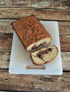 Chocolate Hazelnut Banana Bread #BreadBakers