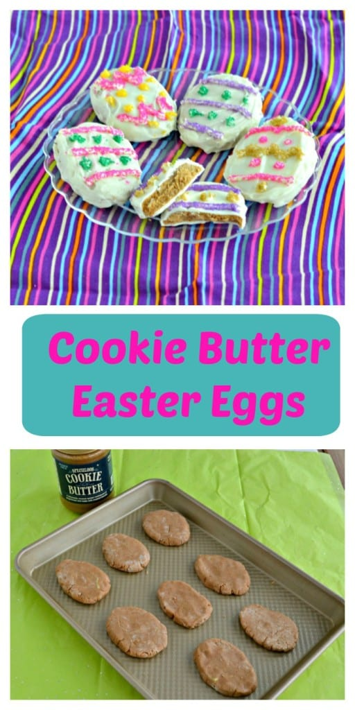 Don't buy cream filled eggs this year, make your own Cookie Butter filled Easter Eggs