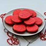 Valentine's Day Chocolate Sandwich Cookies