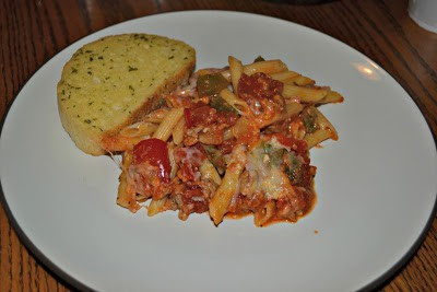 Sausage and Peppers Baked Penne Recipe