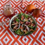 Winter Salad with Blood Orange Vinaigrette #SundaySupper