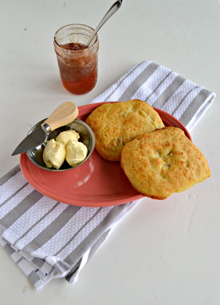 Apple Cheddar Scones are delicious for brunch