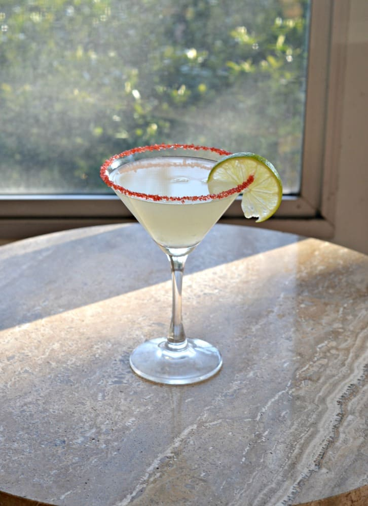 Cherry Lime Martini from Hezzi-D's Books and Cooks