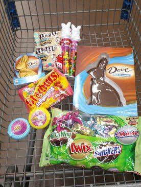 Fill your cart at Walmart with all your favorite Easter goodies