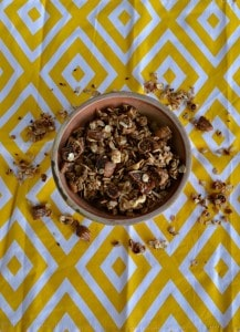 Homemade Granola with Kalamata Figs