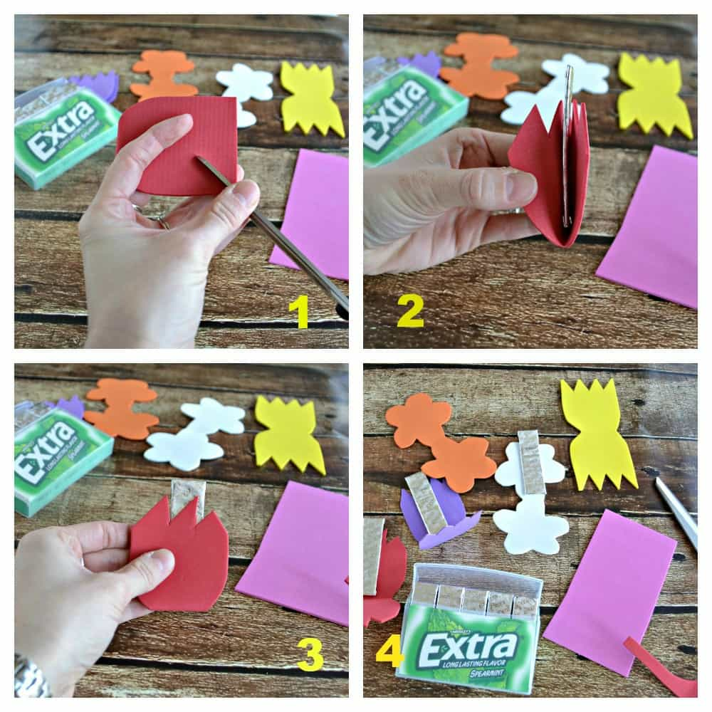 Make a fun Gum Garden to share your gum with all of your friends!