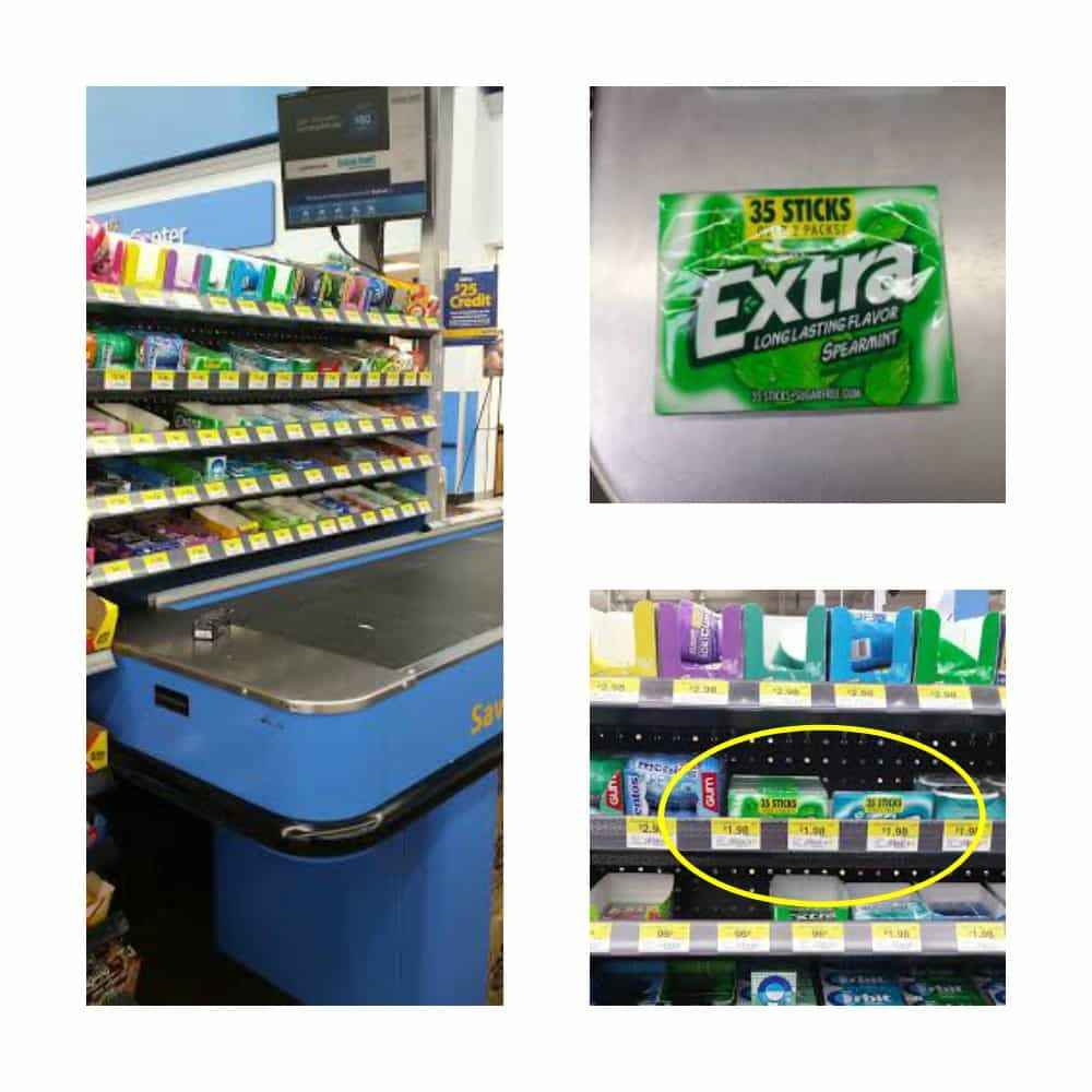 Find the all new Extra 35-stick pack of Gum at Walmart!