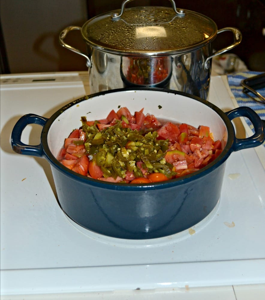Use fresh tomatoes and jalapenos to make this Sweet and Hot Chili Sauce