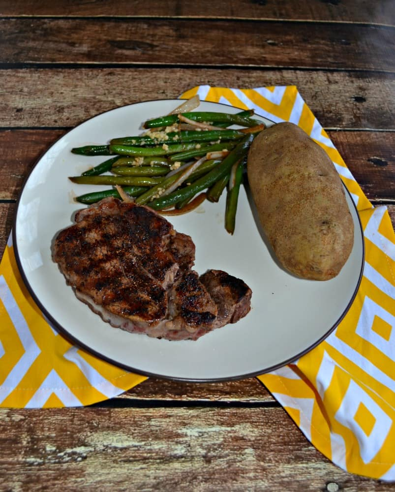 Peppercorn Crusted Filet Mignon is a delicious and easy to make meal
