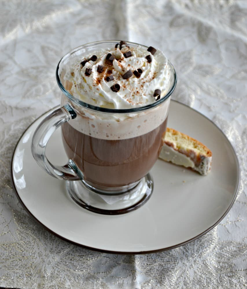 It only takes a few ingredients to make a rich and creamy Italian Coffee