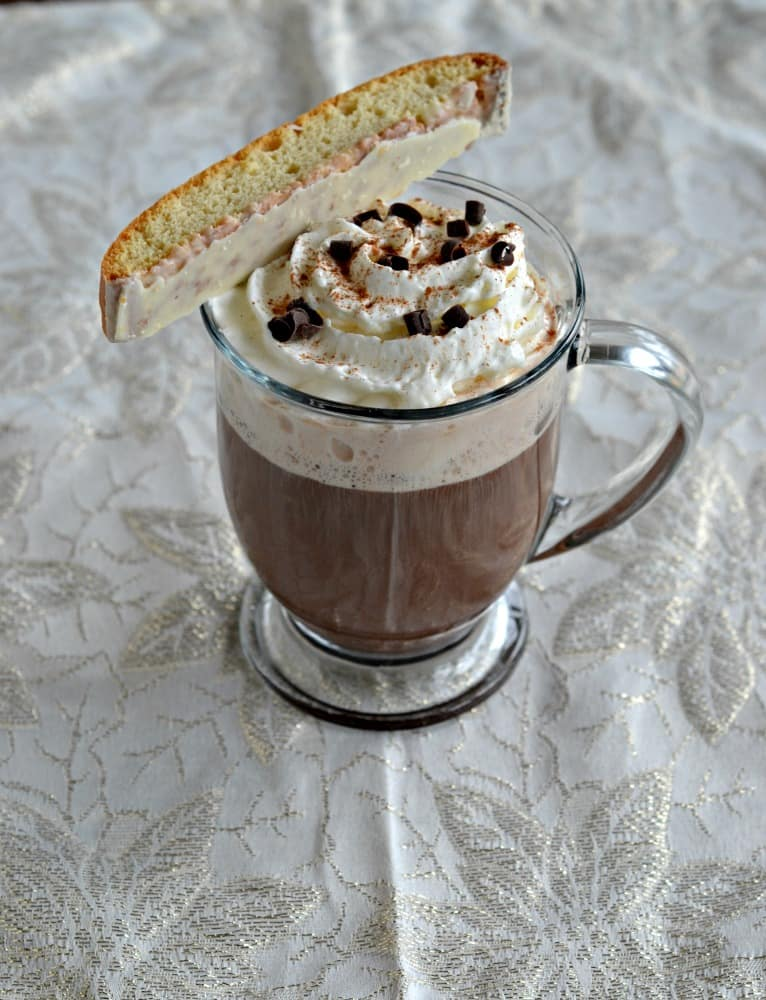 Enjoy this classic Italian Coffee with your favorite Biscotti.