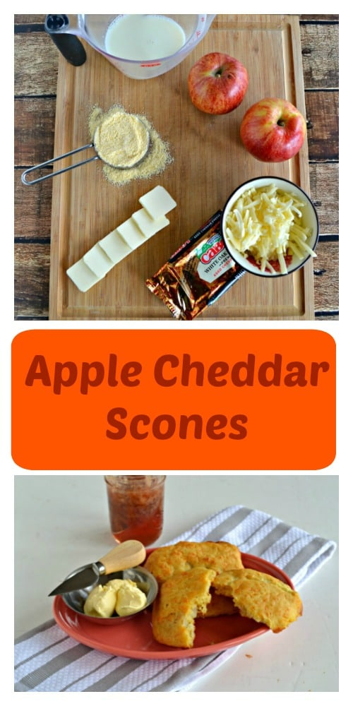 A few simple ingredients create delicious Apple Cheddar Scones