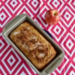 Applesauce Spice Loaf + Review of Sweet Mornings