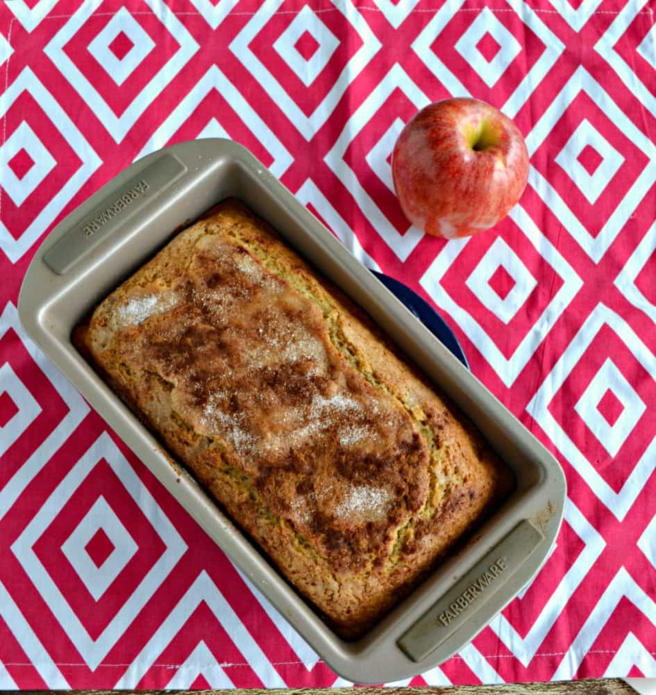Cut a slice of this Applesauce Spice Bread to enjoy with your coffee in the morning.