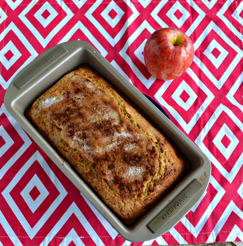 This Applesauce Spice Bread is a moist and delicious quick bread that's great for breakfast