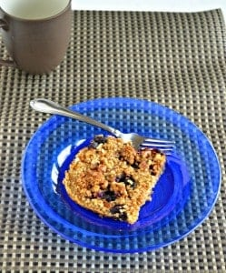 Baked Blueberry Oatmeal #BrunchWeek