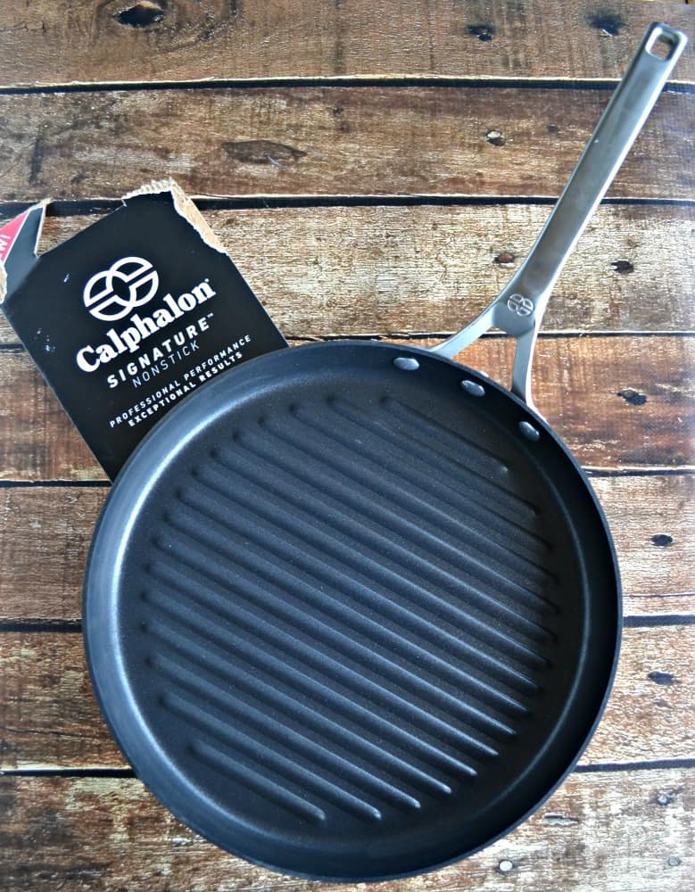 Get this awesome Calphalon Signature™ nonstick Grill Pan from Macy's