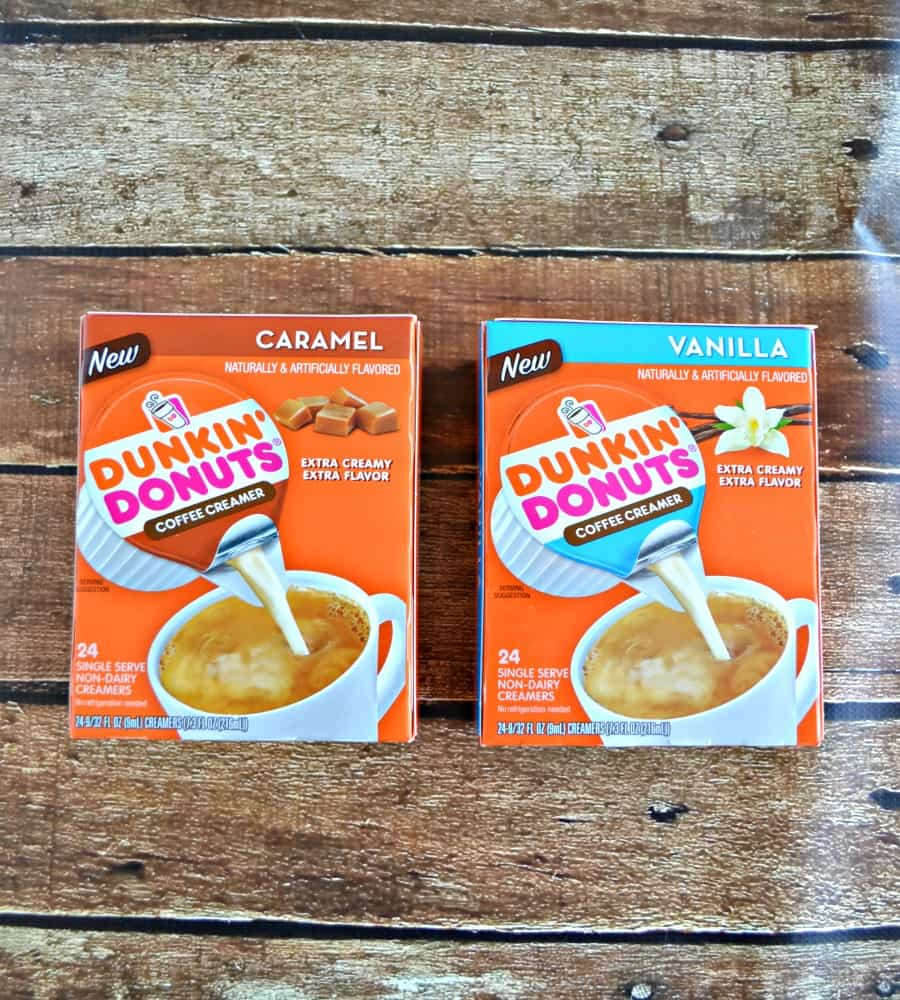 Dunkin' Donuts Creamer Singles are great for work or home