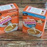 Try all three flavors of Dunkin' Donuts creamer singles!