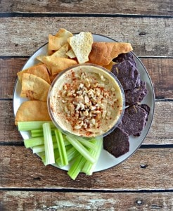 Snack Time with Ginger Walnut Hummus