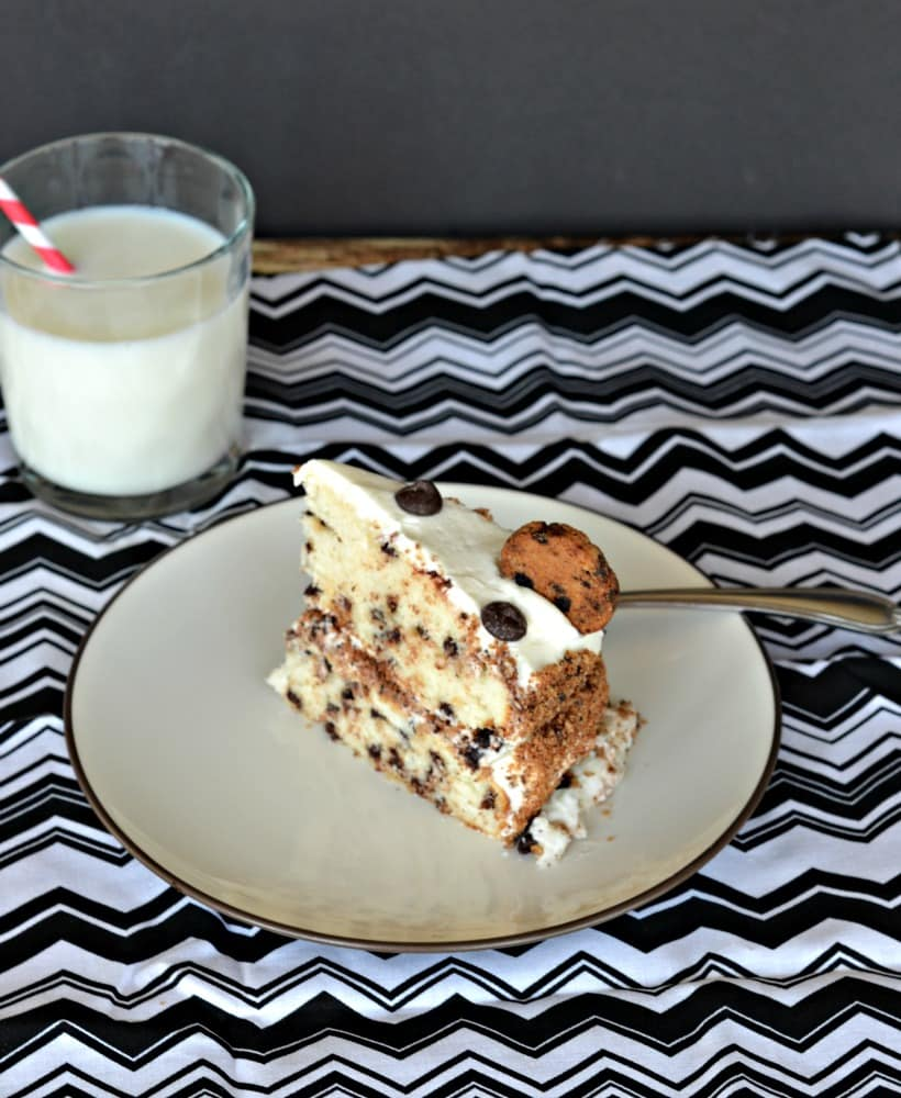 If you like milk and cookies you are going to love it in cake form! Milk and Cookies Cake is an impressive and tasty dessert recipe