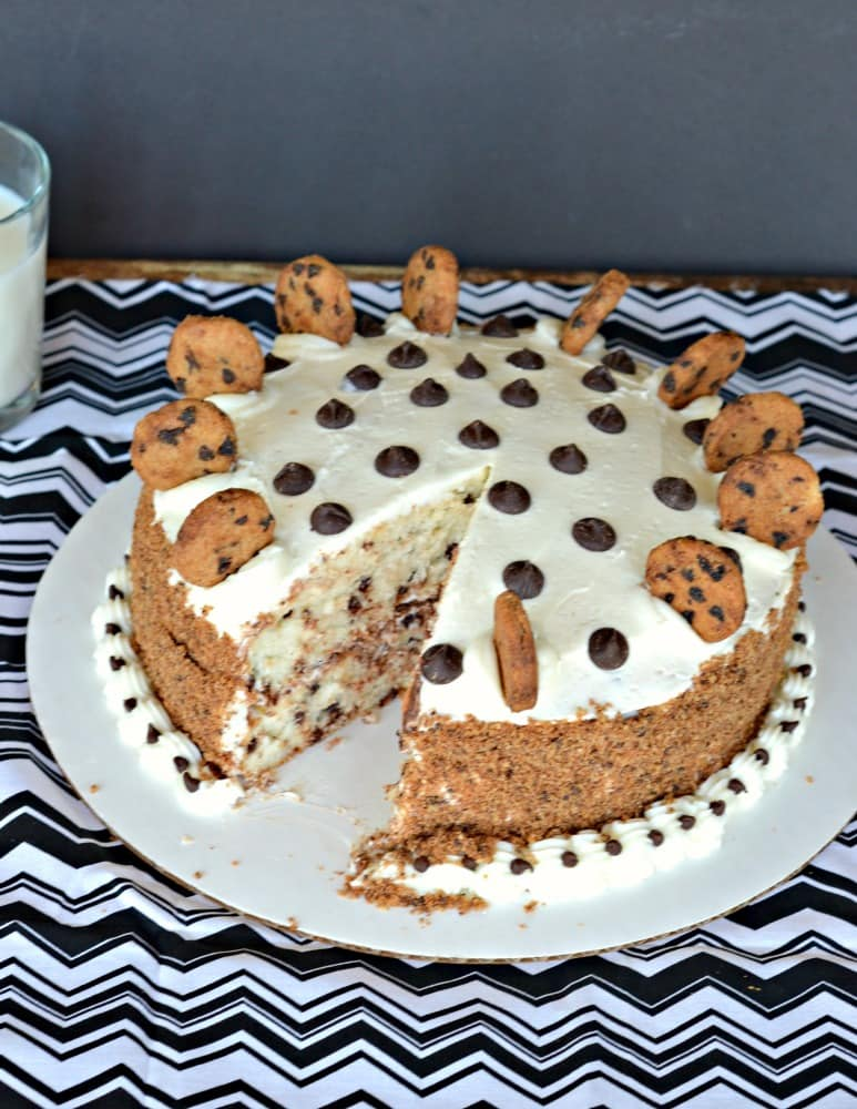 Get a slice of Milk and Cookies Cake before it's gone!