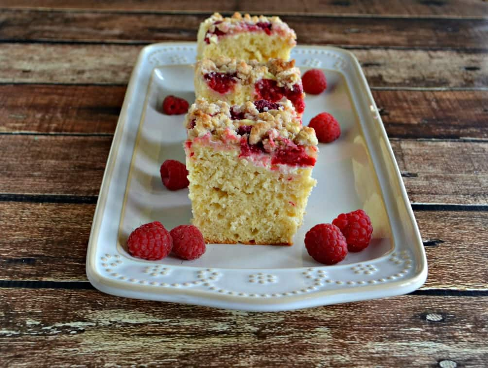Take a bit of this Raspberry Cream Cheese Coffee Cake and you'll be set for the day!
