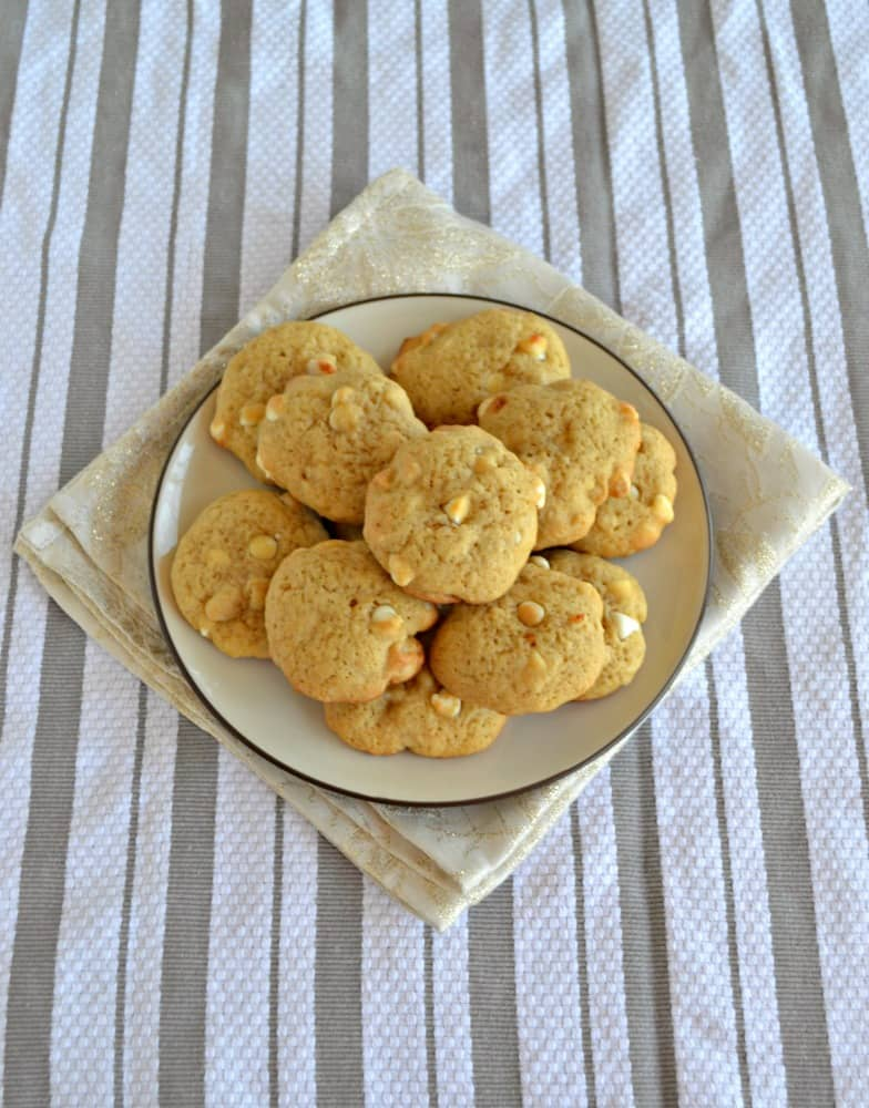 Soft and delicious, you'll love these White Chocolate Macadamia nut Cookies