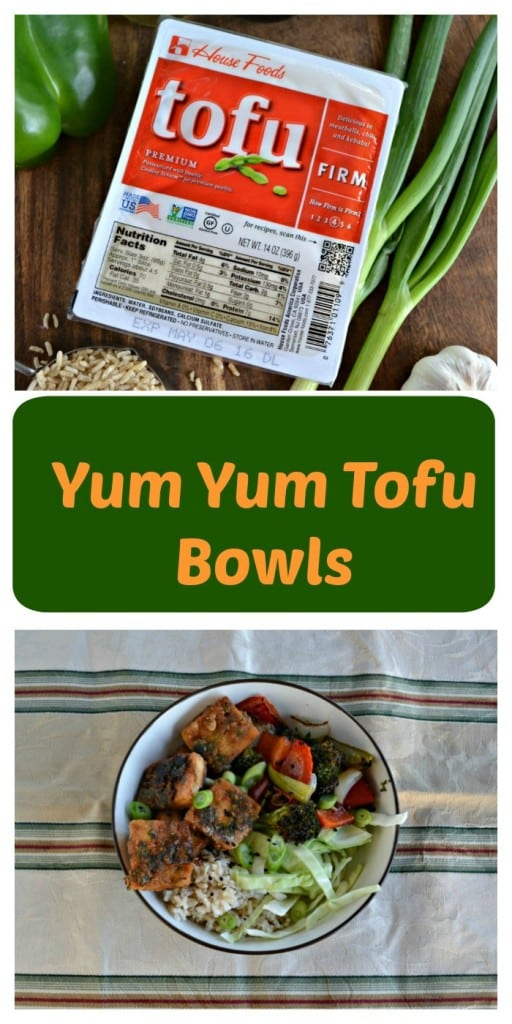 This Yum Yum Tofu Bowl will have everyone loving Tofu!