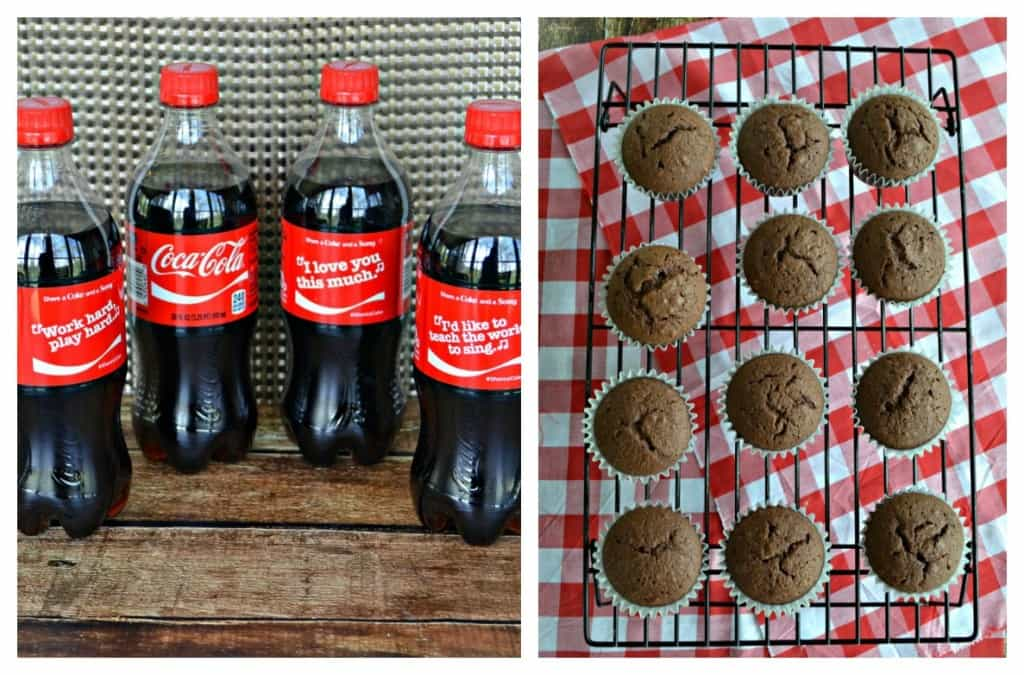 Bake up a batch of Cocoa-Cola Chocolate Cupcakes for dessert!