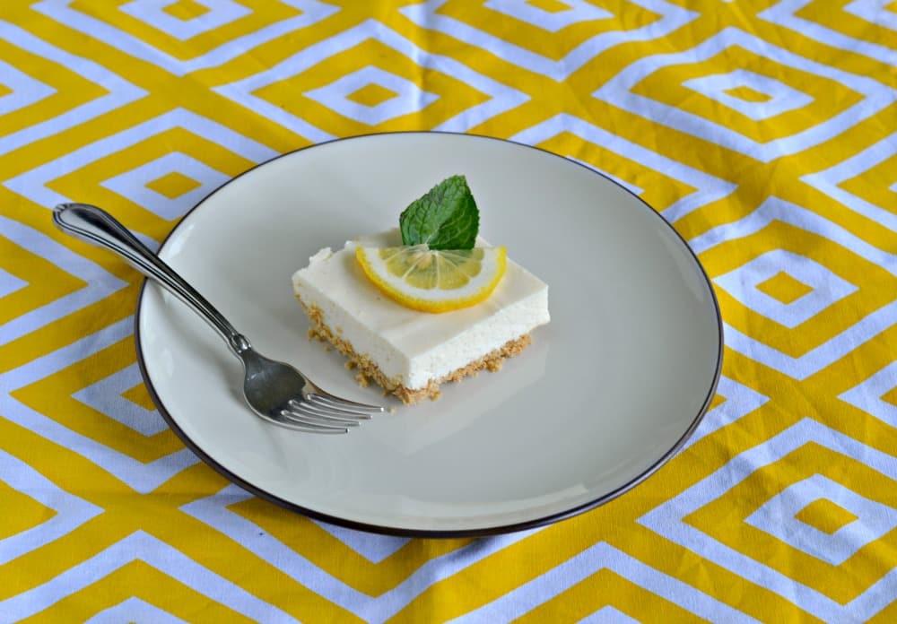 Try an icebox Lemon Bar for dessert
