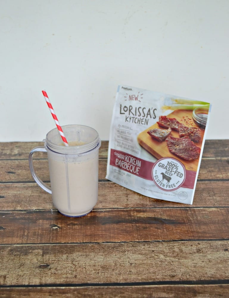 Try a delicious Vanilla Latte Smoothie and Lorissa's Kitchen for a snack!
