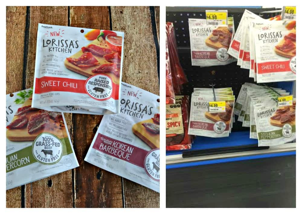 Get Lorissa's Kitchen at the check out register in Walmart!