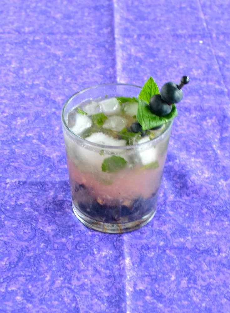 Try a refreshing Blueberry Mojito this summer!