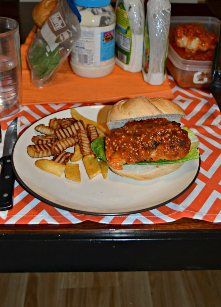 You've got to try these delicious Buffalo Chicken Sandwiches